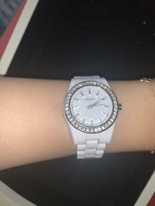 DKNY white watch