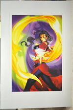 Street Fighter - ROSE LIMITED EDITION PRINT Capcom Arnold Tsang art