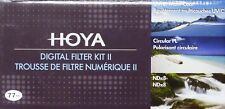 Hoya 49mm Digital Filter Kit 11 Inc Hoya  49mm  UV (C), Circular PL, ND8  ND