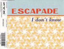 Escapade Maxi CD I Don't Know - Germany (M/EX+)