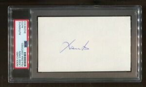 Lasse Viren Signed Index Card 3x5 Autographed Olympics 4xGold PSA/DNA *8303