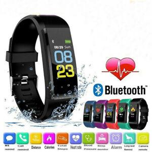 Smart Fitness Watch Activity Tracker Smartwatch Step Calorie Distance Fit Bit