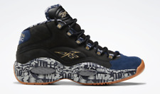 Reebok Classics QUESTION MID MEN'S BASKETBALL SHOES Collegiate Navy  FX4991