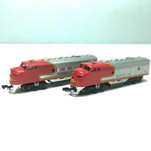 Lot Of 2 BACHMANN N Scale EMD F9 Diesel Engine #215 Both Powered (PLEASE READ)