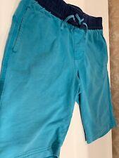 Tea Collection Boy's Size 10 Elastic Waist Shorts Blue
