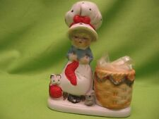"""HAND PAINTED PORCELAIN """"CHRISTMAS LUVKINS"""" - """"JASCO 1978"""" MADE IN TAIWAN"""""""