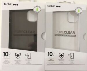 tech21 Pure Clear / Tint Thin Drop Protection Case For iPhone 11, 11 Pro 12 Max