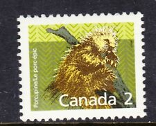 Canada No 1156, Mammal Definitive: Porcupine, Mint Nh