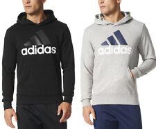 Novo com etiquetas Masculino Adidas Essencial Linear Athletic Hoodie Moletom Com Capuz