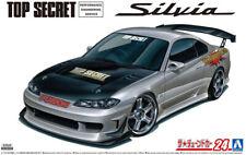 1999 Nissan Silvia S15 TOP SECRET 1:24 Model Kit Bausatz Aoshima 058749