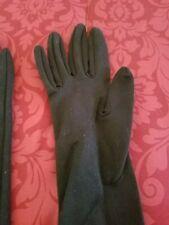 Vintage black long gloves