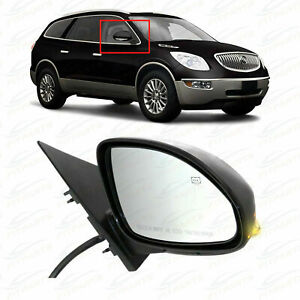 2008-2012 Buick Enclave Passenger Power Fold Heated Mirror with Memory Recall