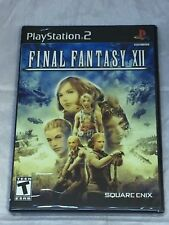 Final Fantasy 12 (XII); PS2 2006 Black Label Brand New