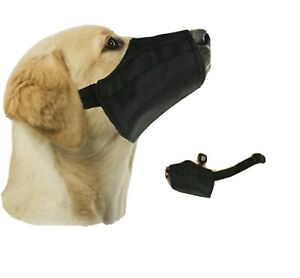 NEW Downtown Pet Supply Quick Fit Dog Muzzle Adjustable Strap Sz 1 Free Shipping