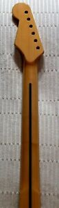 fender neck no decal real, maple new not used    the one with ser # was made at