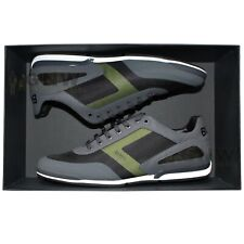 HUGO BOSS MEN TRAINERS/ SNEAKERS/ SHOES 'SATURN LOWP ACT5' Size:8UK NEW Was £169