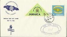 JAMAICA 1965 GIRL GUIDES GOLDEN JUBILEE ILLUS FDC