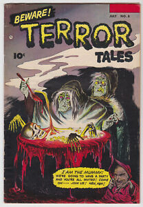 Beware Terror Tales #8 (July 1953) 5.0 VG/FN Fawcett Comic