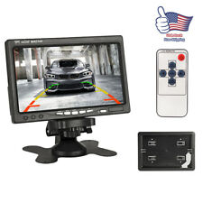 7'' TFT LCD Screen 800*480 Monitor Car  Rearview Backup Reverse Camera DVD GPS