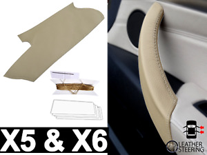 Door Handle BMW X5 & X6 Genuine Beige Leather - Right (E70, E71, E72 06-14)