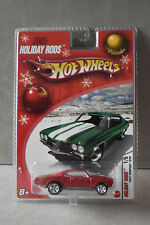 Hot Wheels 2005 Holiday Rods 1967 Pontiac GTO Red, 1/5, New In Package