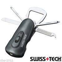 Genuine SWISS+TECH Swivel Tool ST60320 8-in-1 Knife Multi Tool In clamshell