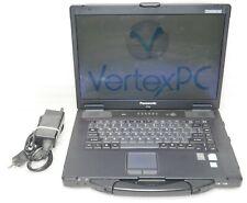 Panasonic Toughbook CF-52 Core 2 Duo 2GHz 2GB 500GB DVDRW Windows 10 x64 Bit