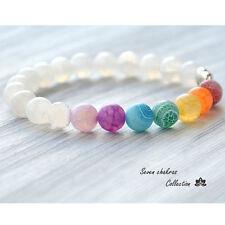 Precious Style Lucky Charms Custom Stone Beads Bracelet Gemstone Elephant