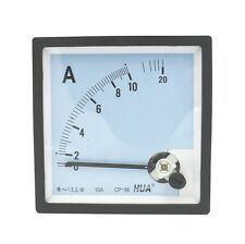 Class 1.5 Accuracy AC 0-10A Analog Current Panel AMP Meter CP-96