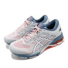 Asics Gel-Kayano 26 D Wide White Blue Women Running Shoes Sneakers 1012A459-021