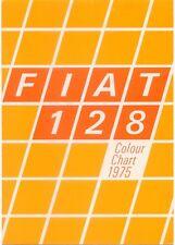 Fiat 128 1100 1300 Saloon Estate Special Exterior Colours 1975-76 UK Brochure