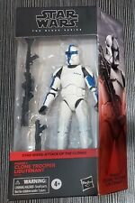 Walgreens Exclusive Star Wars The Black Series Clone Trooper Lieutenant IN HAND