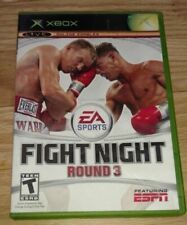 FIGHT NIGHT ROUND 3 - XBOX - COMPLETE WITH MANUAL - FREE S/H - (HH)