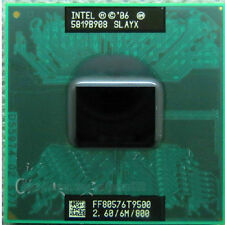 Intel Core 2 Duo T9500 2.6 GHz Dual-Core SLAYX FF80576T9500   Notebook processor