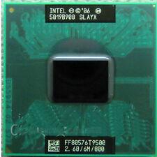 Intel Core 2 Duo T9500 2.6 GHz Dual-Core CPU Processor SLAYX FF80576T9500
