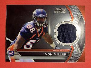 Von Miller Rookie jersey 2011 Bowman Sterling RC Denver Broncos