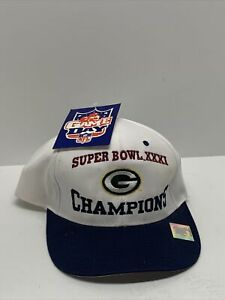 Green Bay Packers Super Bowl XXXI Champion Hat Logo 7 Game Day New