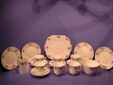 WELLINGTON CHINA, J H COPE, TEA SET CIRCA 1924-1947, PATTERN 5302, 17 PIECES