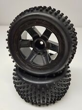 Proline 2.2 Buggy Hex Drive Rear Rims Tyres Wheel Pair Suit 1/10 2WD RC Car OZRC