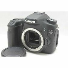 Canon EOS 70D 20.2MP Digital SLR Camera Black Body Japan W/Battery Charger FedEx