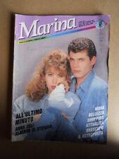 MARINA n°351 1990 Rivista di Fotoromanzi ed. LANCIO [G830]