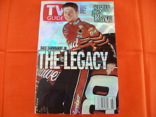 DALE EARNHARDT JR. DATED FEBRUARY 16-22 2002 TV GUIDE NASCAR PREVIEW