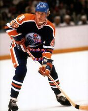 Wayne GRETZKY Edmonton OILERS #99 AWAITS a PASS Custom LAB ACTION 8X10 NEW L@@K!