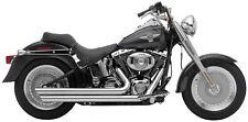 Cobra Speedster Slashdown Exhaust for Harley-Davidson FXSTC Softail Custom 2007