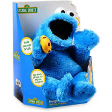 Sesame Street Hungry Cookie Monster Talking Puppet With 15+Sounds - FAST SHIP