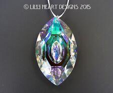 BIG Crystal CATS EYE Aurora 76mm Suncatcher Ready to Hang Lilli Heart Designs