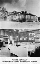 Tucker's Restaurant 9205 Marlboro Pike Duo-View Cigarette Machine Postcard