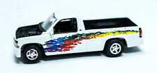 Vintage Hot Wheels 2000 Chevy Silverado White Truck used under license Mattel