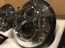 land rover defender 7'' Silver Chrome LED High Out Put Head Lights great quality