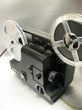 8 mm Film Super/Normal Projektor Revue lux 30b für 120 m.Spulen mit Funktion.